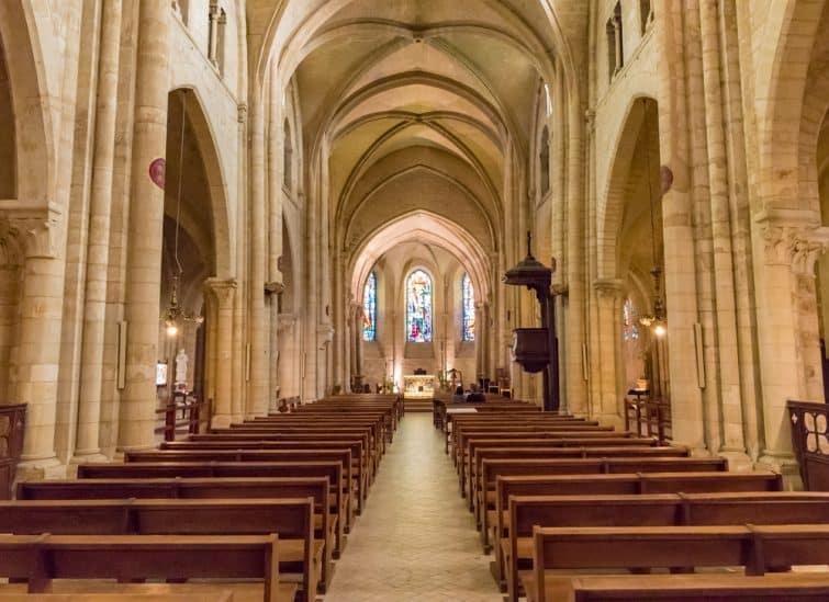 Intérieur de l'église Saint Pierre de Montmartre