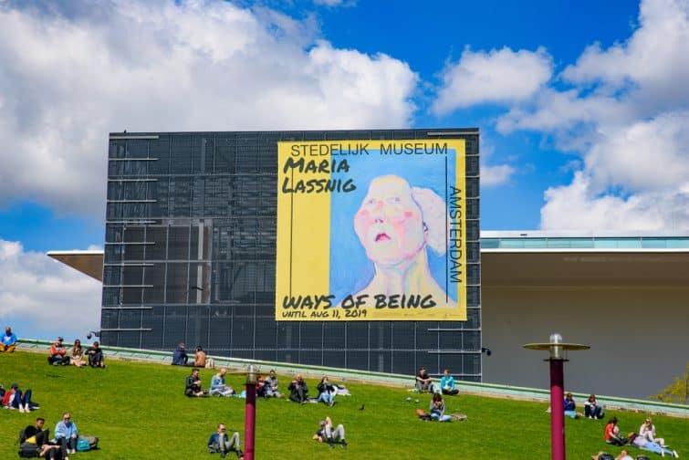 Extérieur du Stedelijk museum, Musée d'art moderne et contemporain, Amsterdam