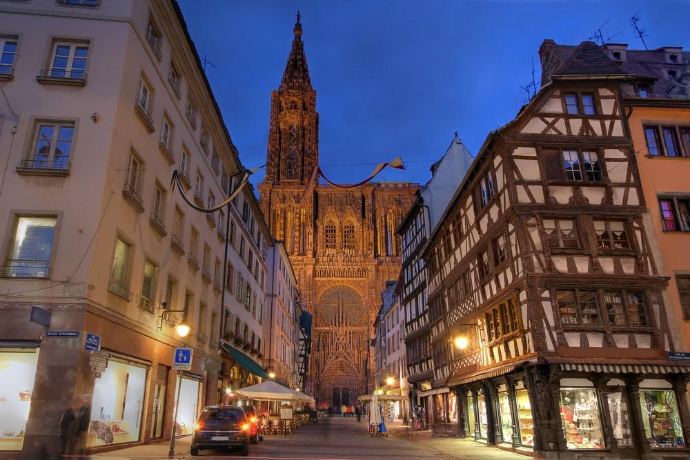 Strasbourg Cathedral (Notre-dame de Strasbourg, France)