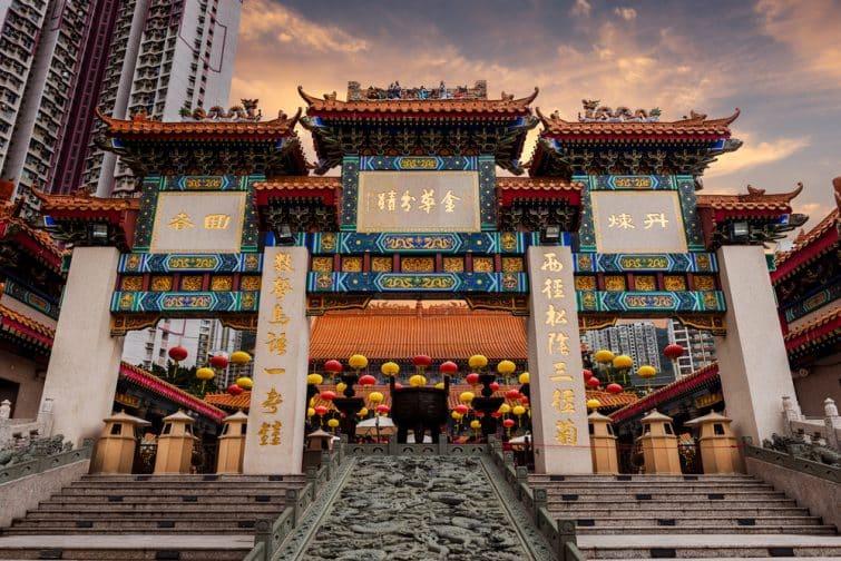 Temple Wong Tai Sin