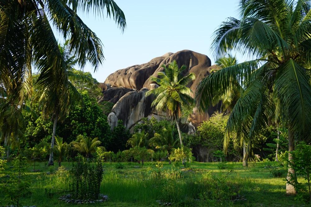 Union Estate Park La Digue Island Seychelles