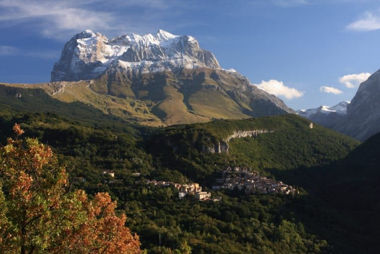 Le Gran Sasso, Abruzzes