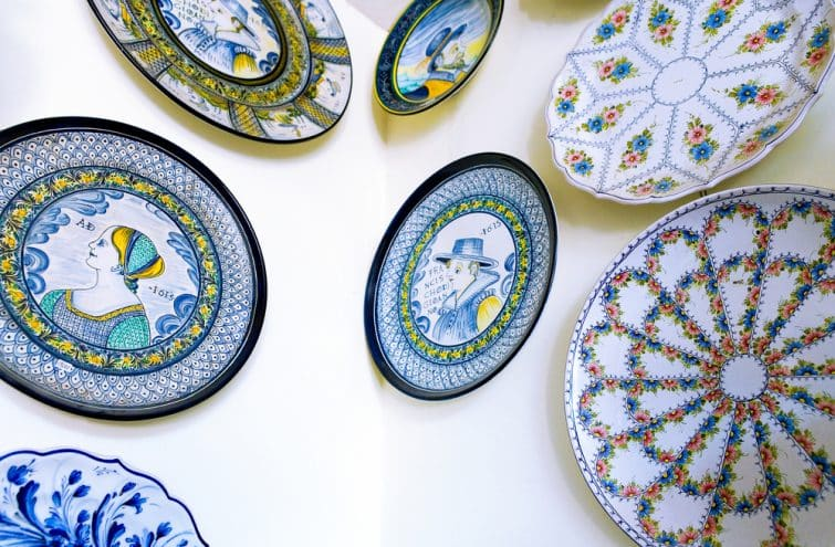 Le musée de la céramique, à Castelli