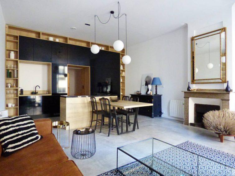 Montpellier : Loft Design, Vintage, refait à neuf