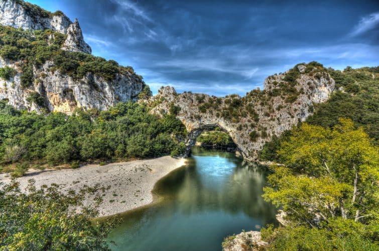 ardèche pont naturel