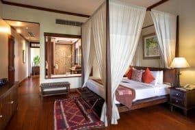 Chambre à la villa Ariyasom
