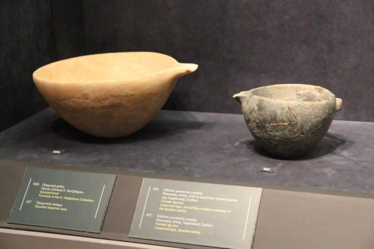 Le musée d'art cycladique d'Athènes