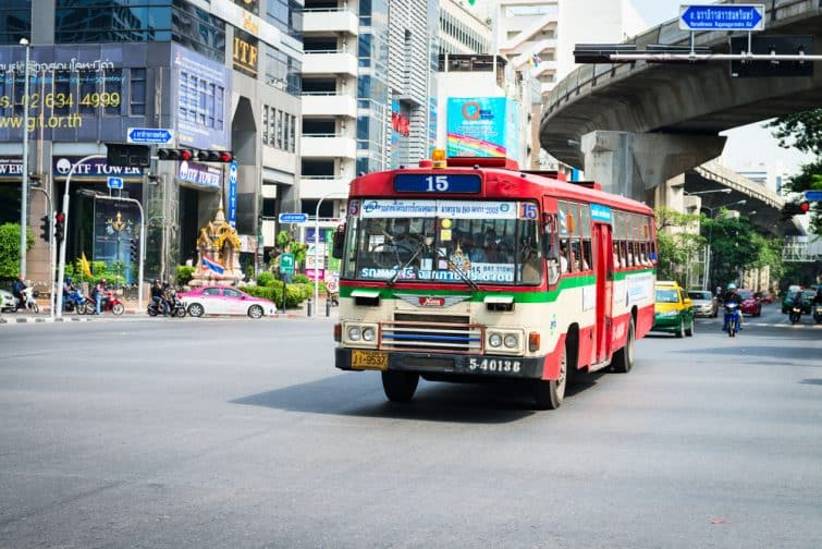 Bus à Bangkok