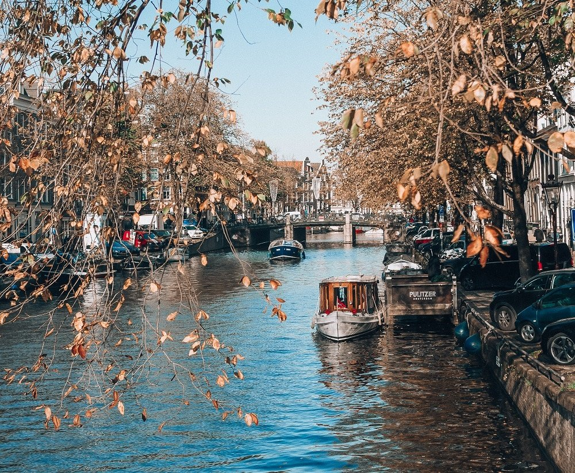 Balade en bateau à Amsterdam
