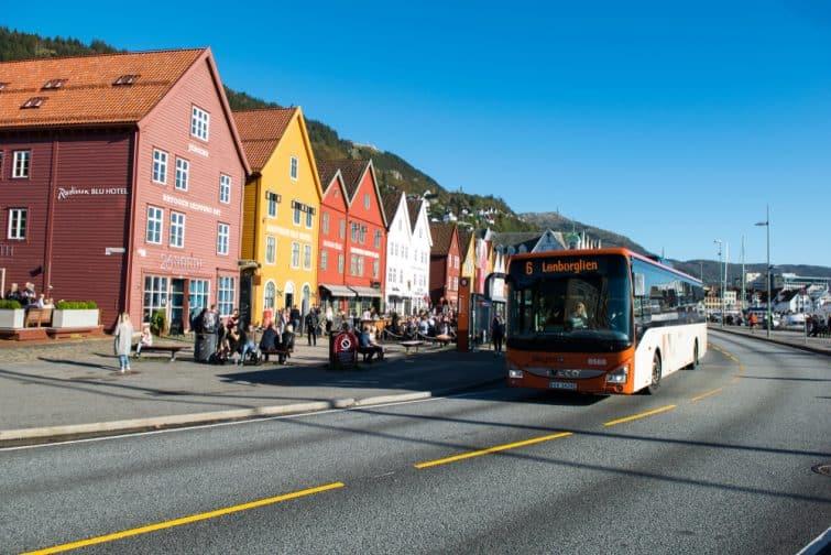 Un bus de la Skyss, société des transports de Bergen