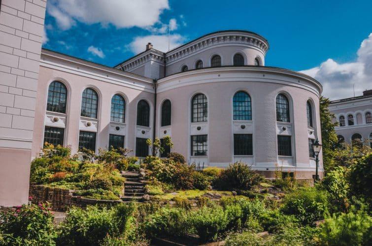 Le jardin botanique de l'université de Bergen