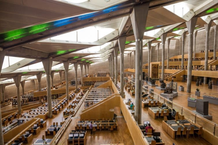 bibliothèque Alexandrina