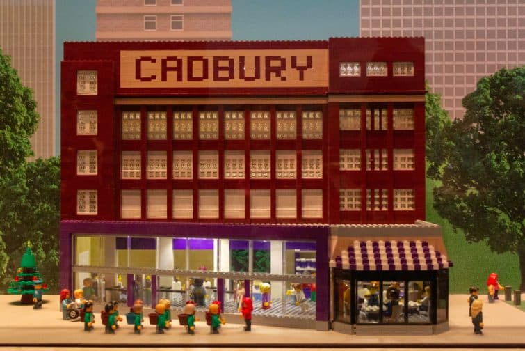 Catbury World en lego