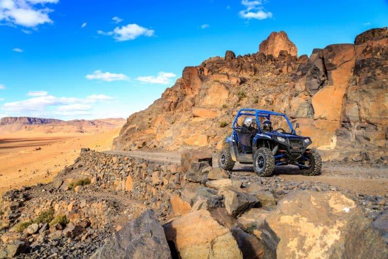 Balade en buggy dans les montagnes de l'Atlas
