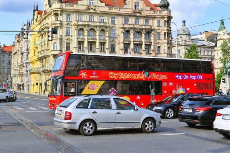 bus prague
