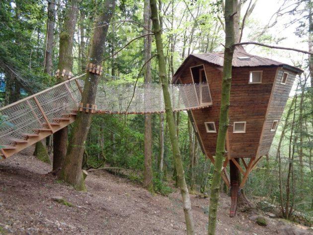 10 hébergements où passer une nuit insolite en Bretagne