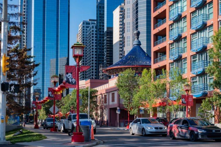 Chinatown, Downtown Calgary