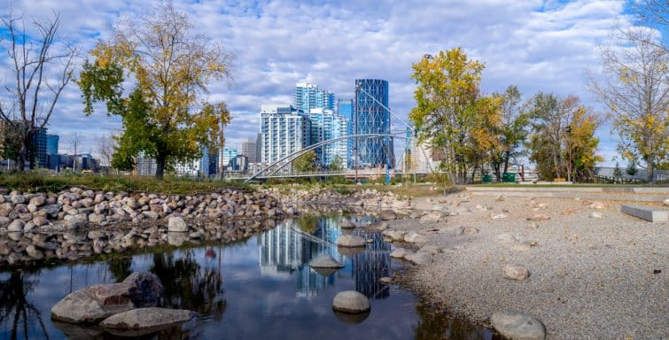 East Village, Downtown Calgary
