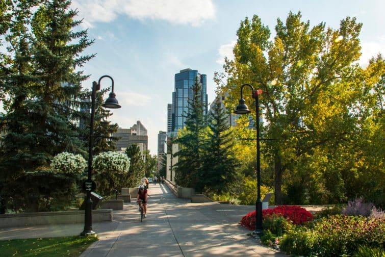Le Parc de l'Île du Prince, Calgary