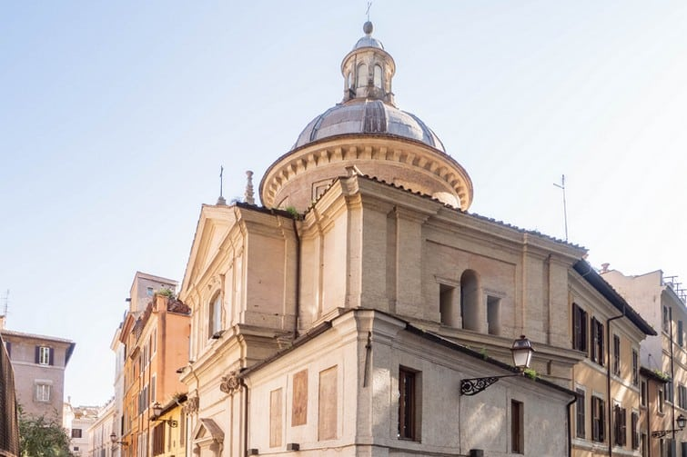 Visiter Campo de' Fiori et la Chiesa Sant'Eligio degli Orefici