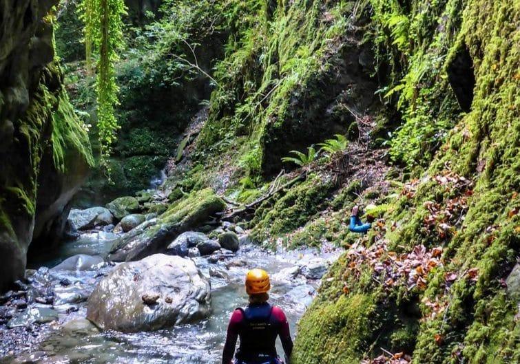 Le canyon de Canceigt, parfait pour faire du canyoning dans les Pyrénées