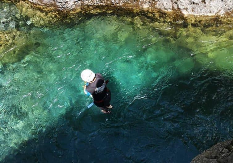 Faire du canyoning dans les Pyrénées, au Gave d'Héas