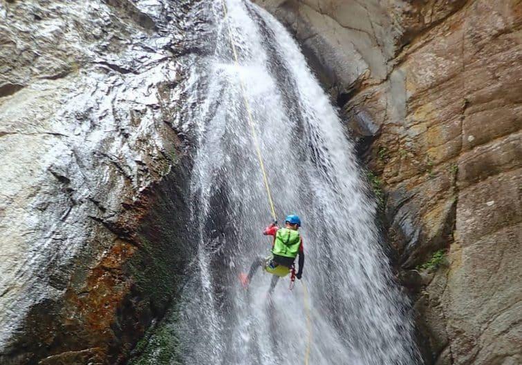 Llech, l'endroit idéal pour faire du canyoning dans les Pyrénées