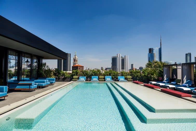 Rooftop et piscine du Ceserio 7, Milan