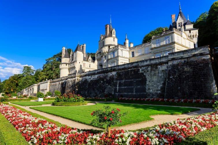 Jardins du château d'Ussé