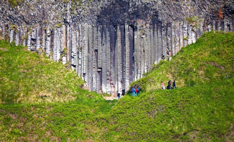 Les colonnes naturelles
