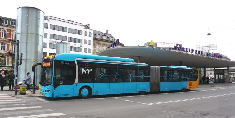 Bus de Copenhague