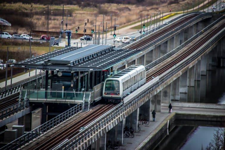 Le métro de Copenhague