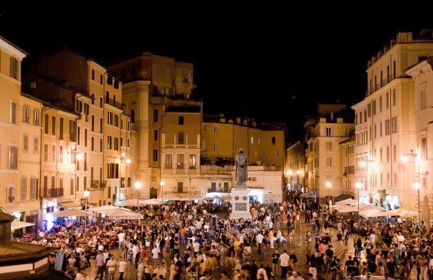 Guide du quartier Campo de' Fiori à Rome