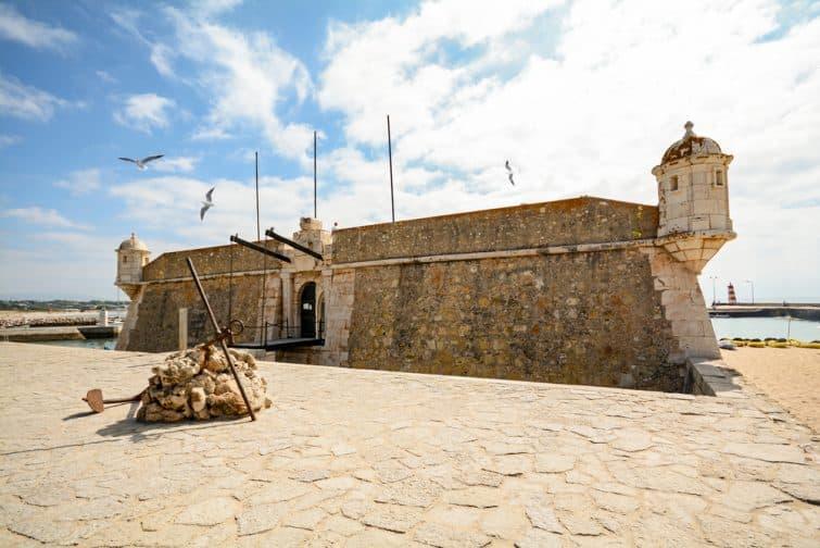 Entrée du fort da Ponta da Bandeira