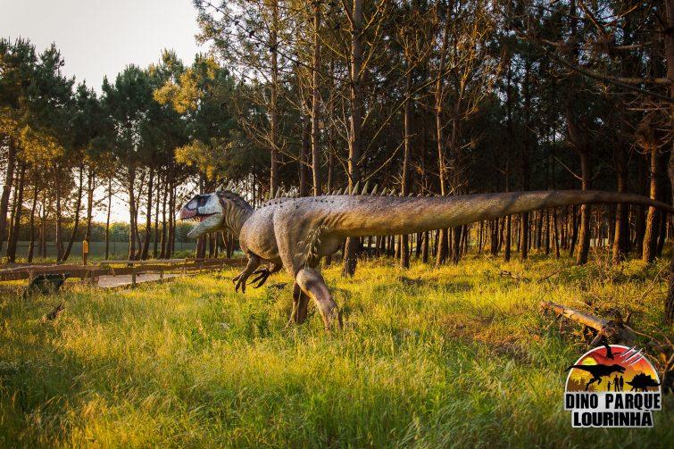 Dinosaure au Dino Parque Lourinhã, Portugal