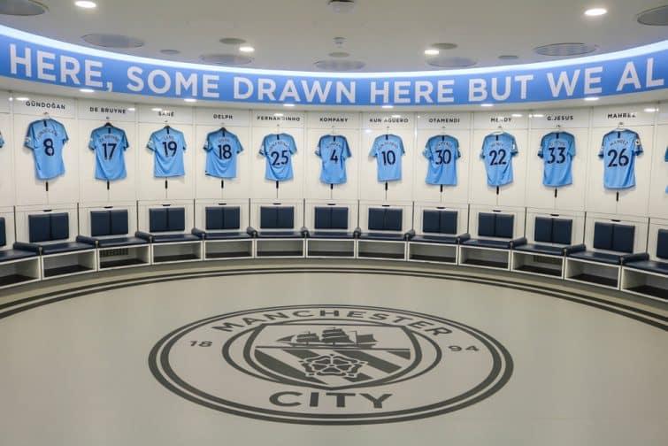 Visiter le Etihad Stadium et le vestiaires des joueurs de Manchester City