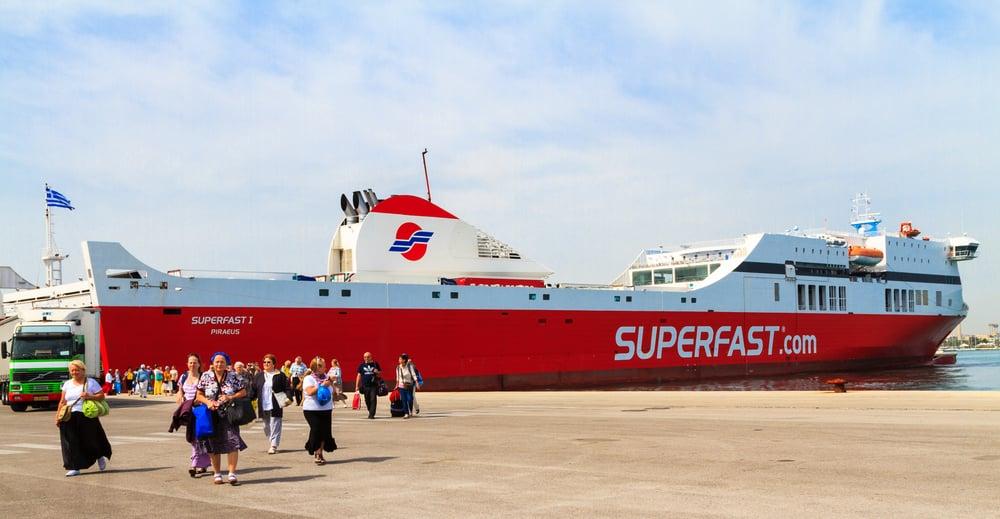 ferry Corfou depuis Ancône en ferry