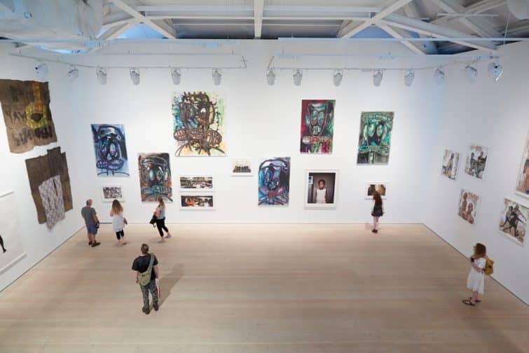 La Galerie Saatchi, Londres