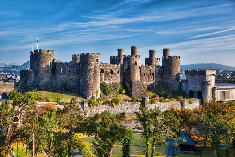 Château de Conwy, Pays de Galles