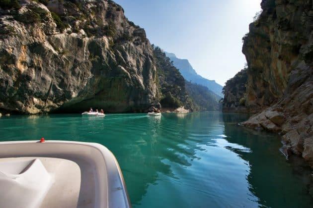 Les 8 endroits où faire du canyoning dans les Gorges du Verdon
