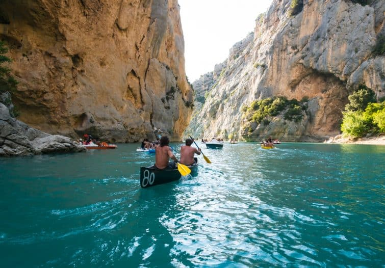 gorges verdon kayak