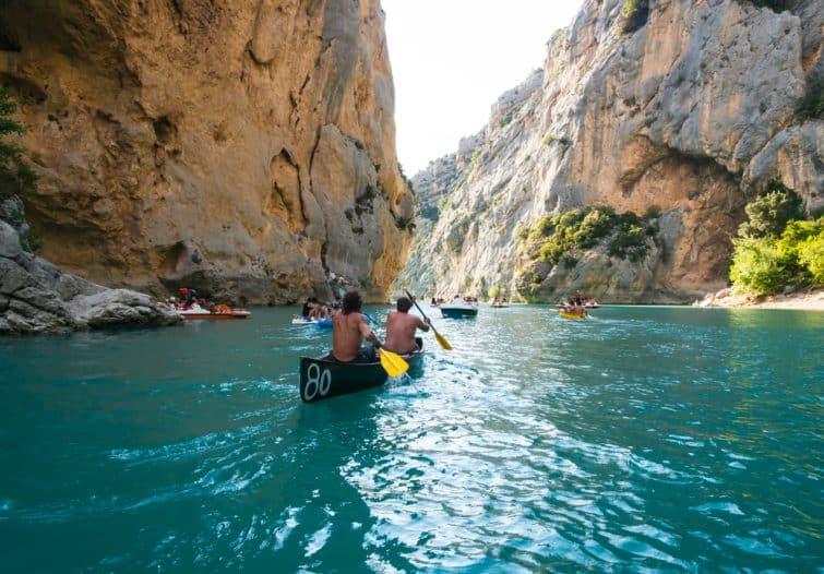 gorges verdon kayak