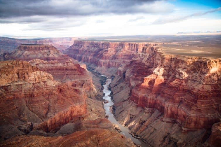 Vue sur la Grand Canyon, Etats-Unis