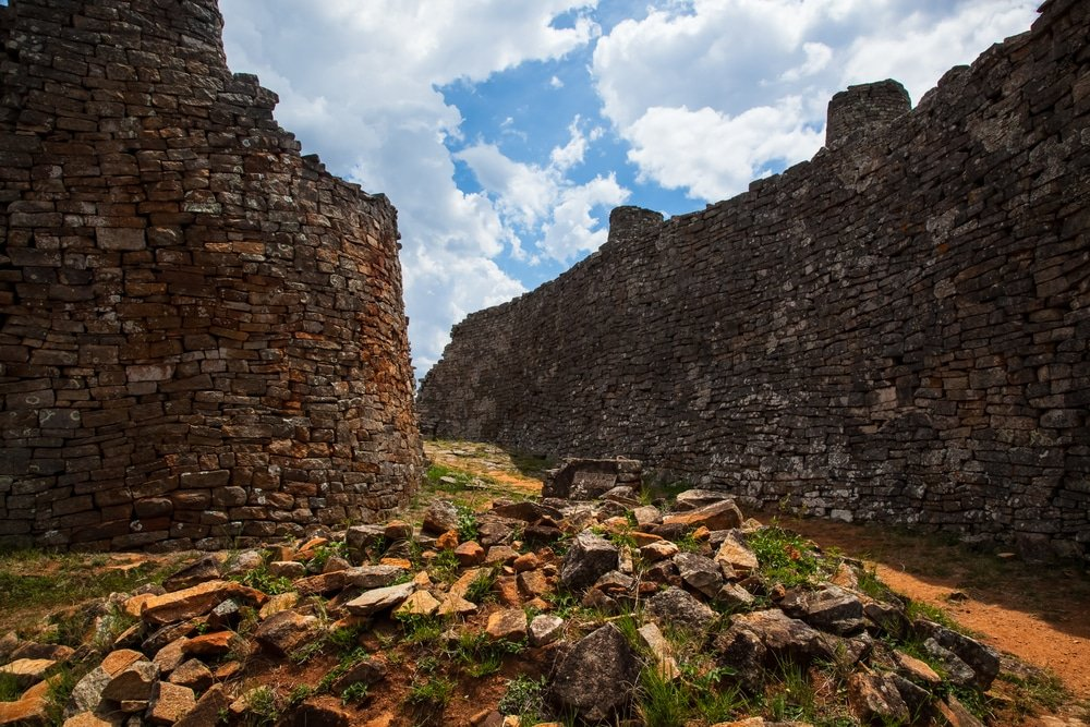 Ruines médiéval du Grand Zimbabwe