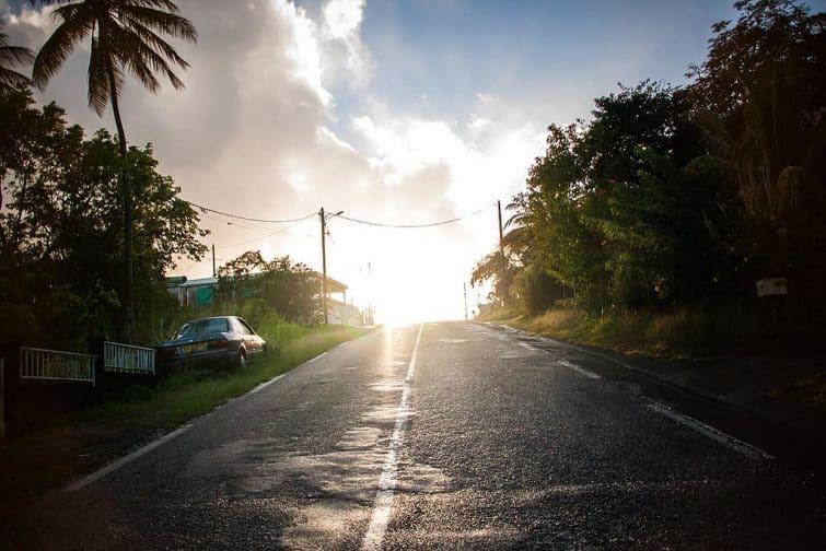 Route guadeloupéenne