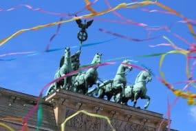 Brandenburg pendant la Gay Pride, Berlin