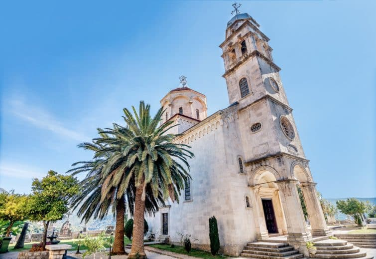 Monastère de Savina à Herceg Novi, Monténégro
