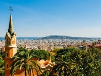 Vue sur la ville de Barcelone