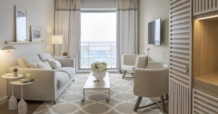 Suite avec vue, Hôtel Bellevue, Dubrovnik