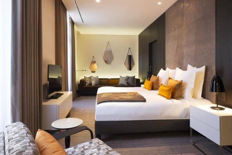 Chambre à l'hôtel D, Strasbourg